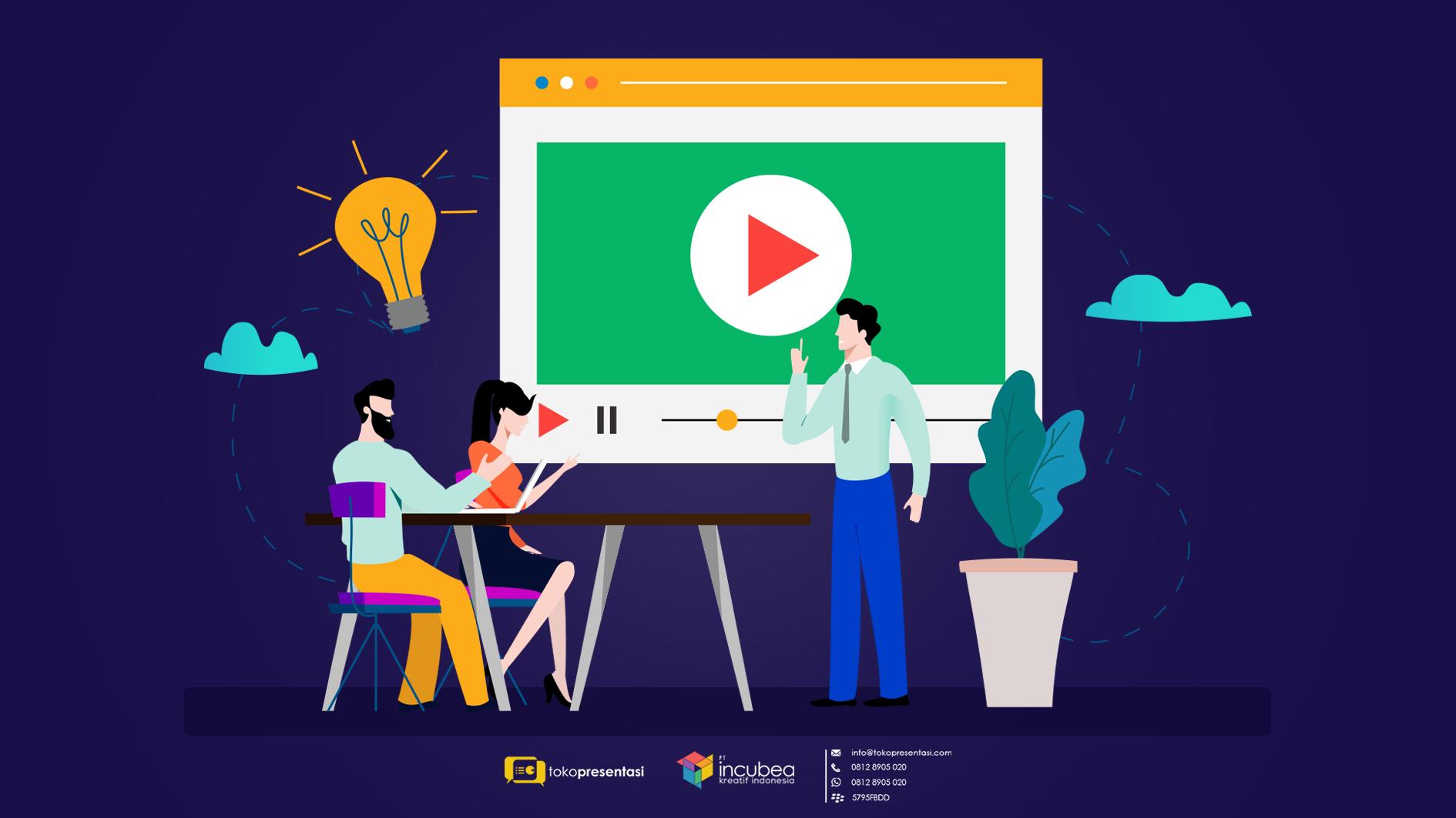 Jasa Pembuatan Desain Infografis Kementerian Komunikasi dan Informatika - Tokopresentasi