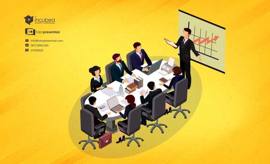 Jasa Pembuatan Desain Infografis Kementerian Pertahanan - Tokopresentasi