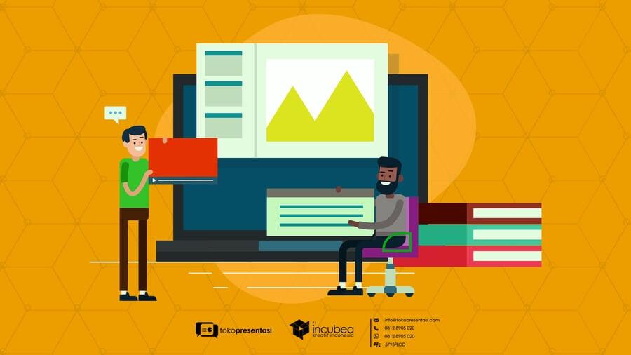 Jasa Pembuatan Presentasi Powerpoint Perusahaan Swasta - Tokopresentasi