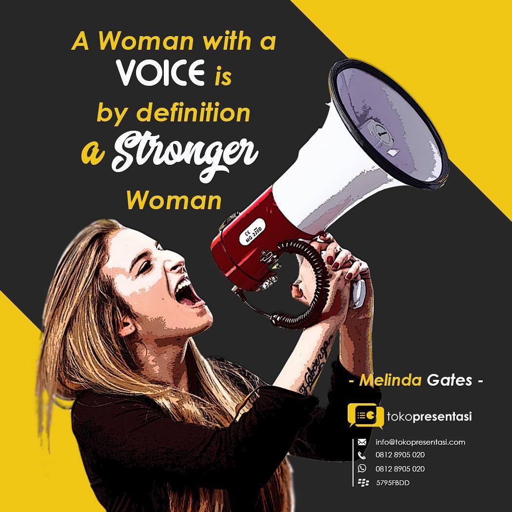 Konten Sosial Media - Melinda Gates Quotes