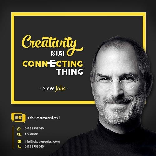 Konten Sosial Media - Steve Jobs Quotes (2)