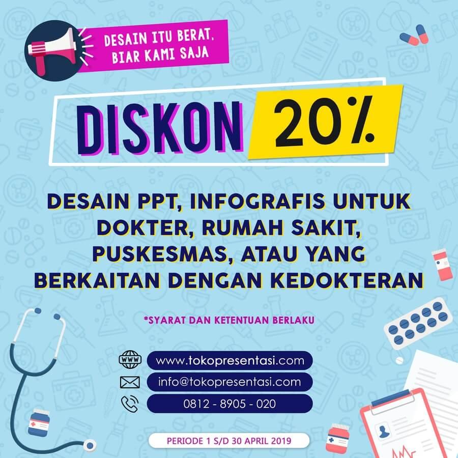 Promo Desain Presentasi, Desain Infografis untuk Hari Kesehatan Sedunia
