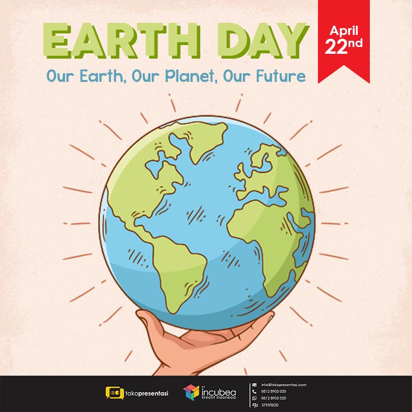 Konten Sosial Media - Earth Day