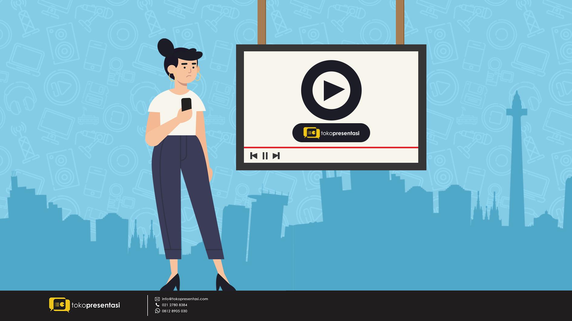 Jasa Buat Video Explainer Terbaik dan Profesional di Jakarta - Tokopresentasi.com