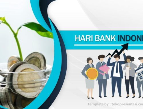 AB019 Template Powerpoint Gratis Tema Bank Indonesia