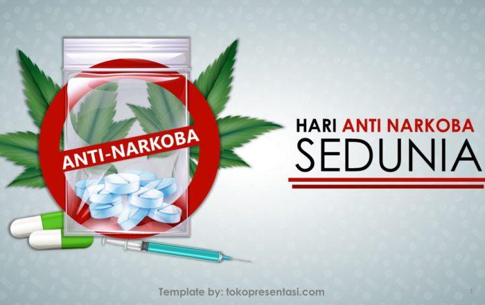 Template Powerpoint Gratis Tema Hari Anti Narkoba Tokopresentasi (3)