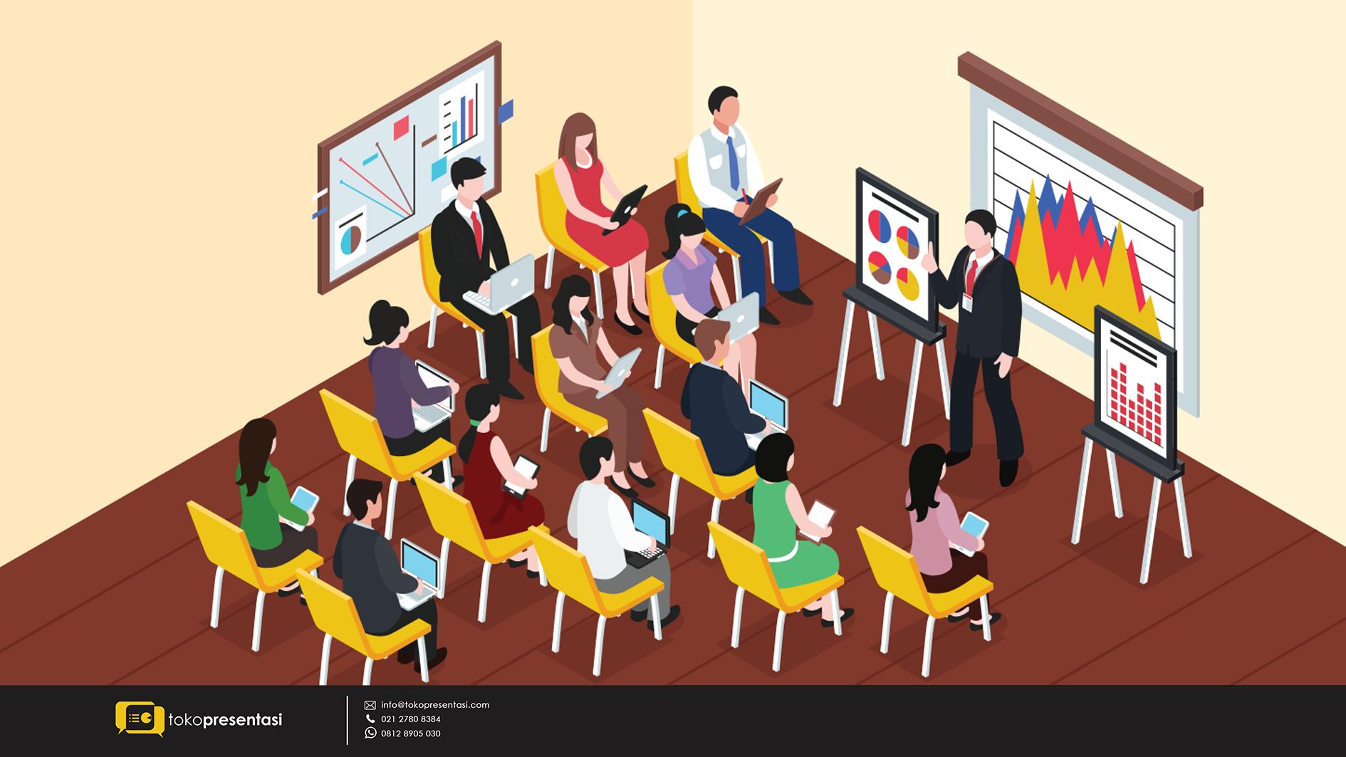 Jasa pembuatan presentasi powerpoint Temu Karya Mutu dan Produktivitas Nasional PT Adaro Indonesia tokopresentasi