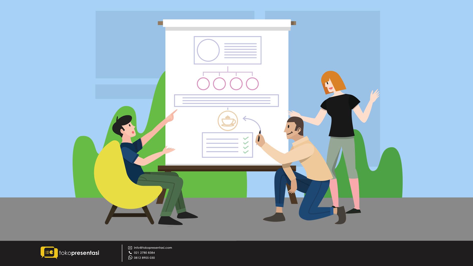 Langkah Menyulap Data dalam Pembuatan Infografis - Tokopresentasi.com