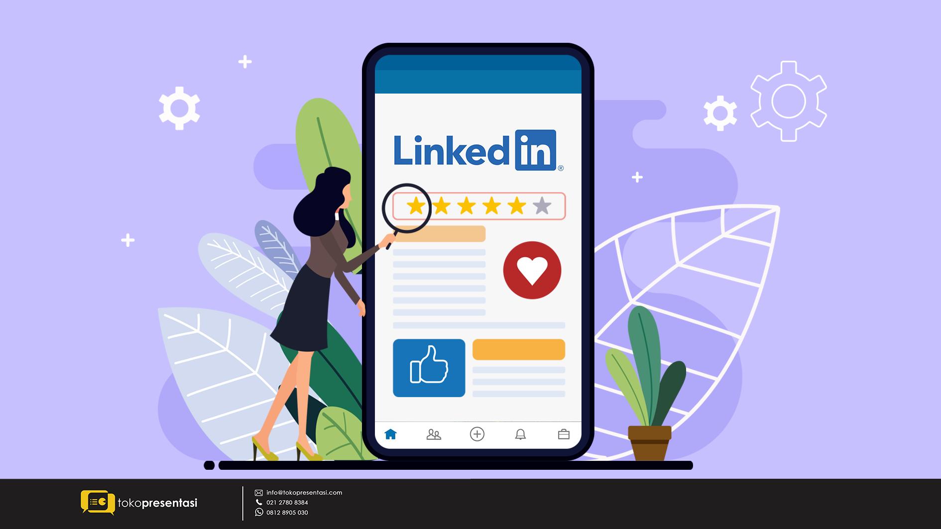 Membangun Personal Branding melalui Konten LinkedIn - Tokopresentasi.com
