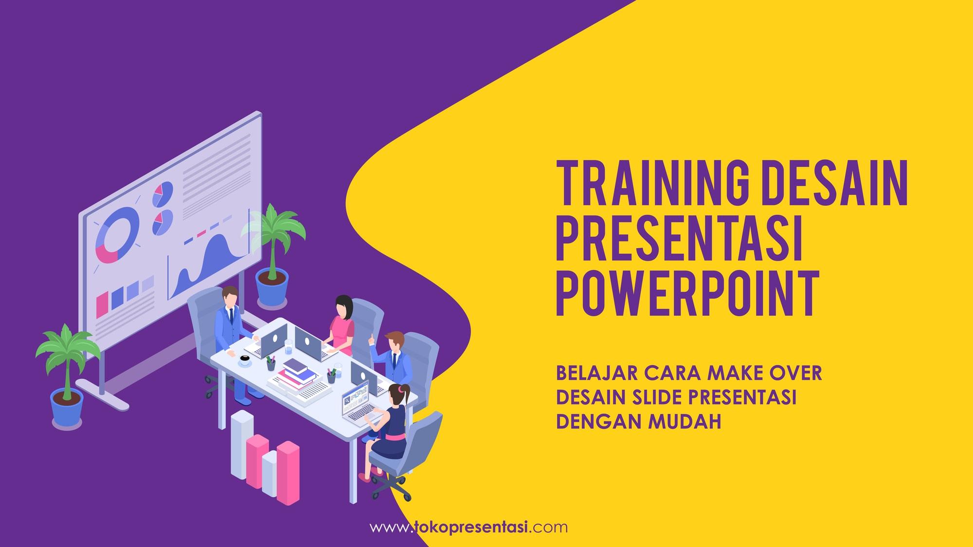 Pelatihan Desain Presentasi PowerPoint Komisi Nasional Hak Asasi Manusia Tokopresentasi