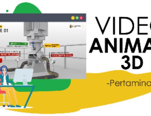 Video Animasi 3D : Simulasi Pipa Minyak Pertamina ONWJ