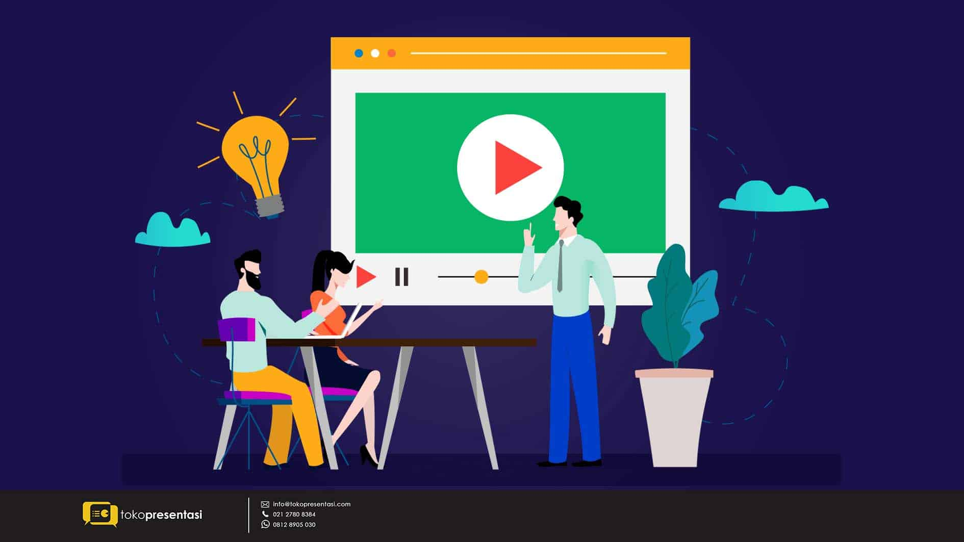 Alasan pentingnya video company profile bagi perusahaan-tokopresentasi