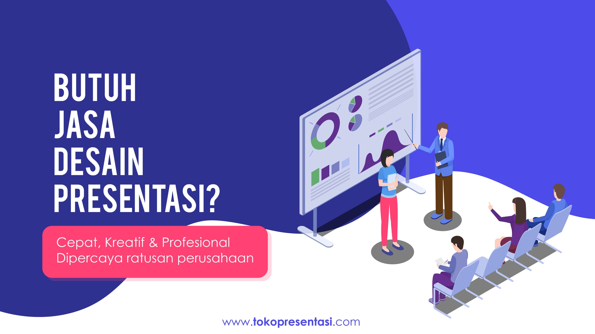 Jasa-desain-powerpoint-press conference-Tokopresentasi