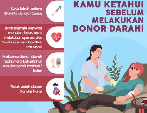 Infografis Tentang Donor Darah