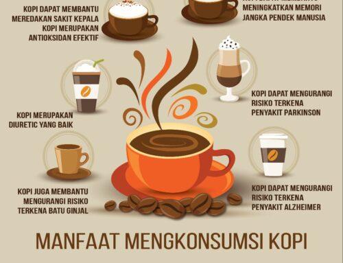 Infografis Manfaat Mengkonsumsi Kopi
