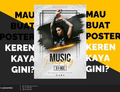 Jasa Pembuatan Desain Poster Untuk Event