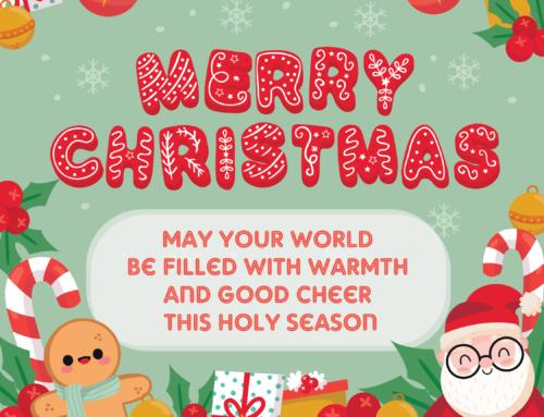 Desain Ucapan Natal untuk Postingan Sosial Media
