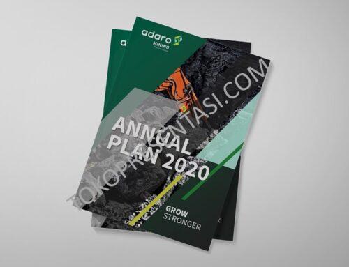 Desain Buku Annual Report Adaro