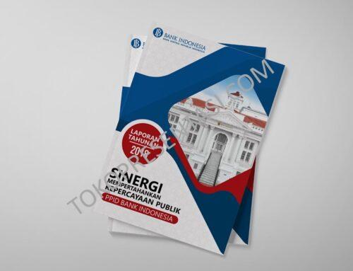 Desain Buku Laporan / Report Bank Indonesia