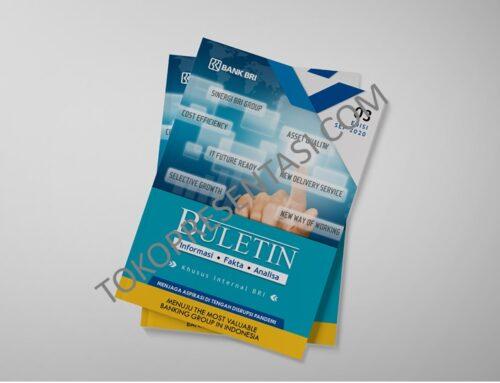 Desain Buletin Jurnal Ilmiah BRI